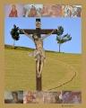 Il Cristo tra i due alberi copia